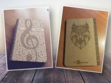 Libreta Notas A5 en madera DM